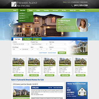 Bitterwater, CA real estate agent website