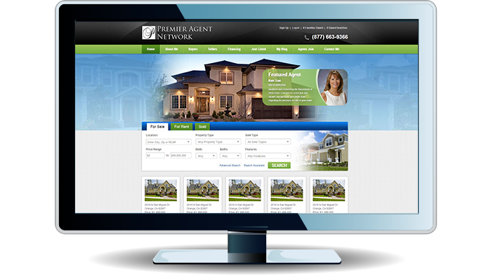 Real Estate IDX Website